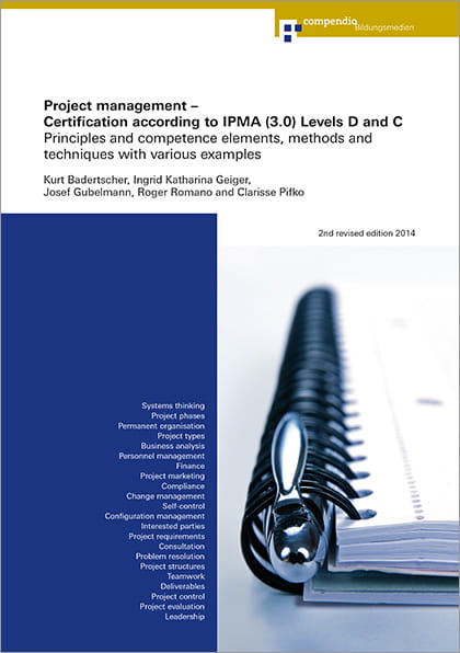 Project management - Certification according to IPMA (3.0) Levels D and C (E-Book)