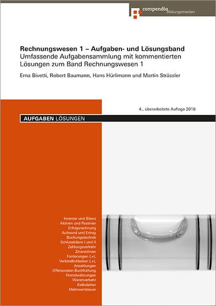 Rechnungswesen 1 Aufgaben Und Lösungsband Compendio Bildungsmedien